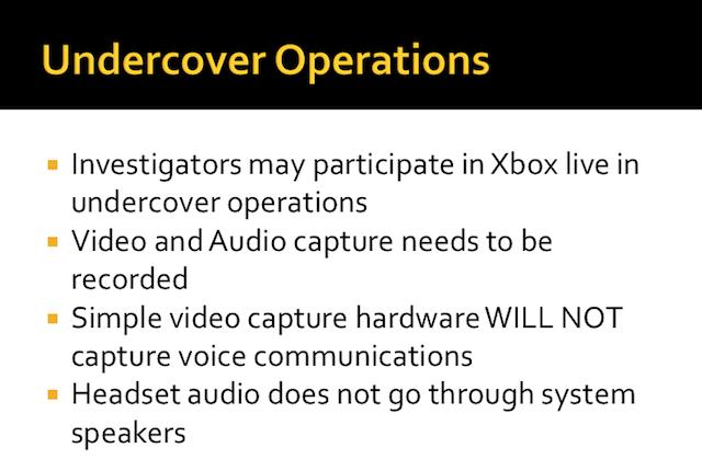 Undercover investigators welcome