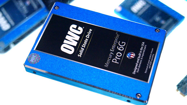 """OWC now offers an enterprise-class 2.5"""" SSD option with failsafe data writes and a seven-year warranty."""