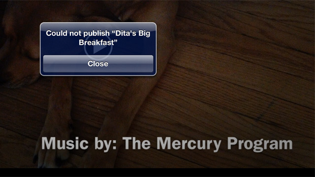 We didn't have much luck using iMovie's built-in sharing options when trying to publish HD video to YouTube.