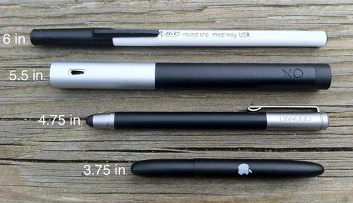 Analog Bic, Studio Pen, Bamboo Stylus, Fisher Space Pen