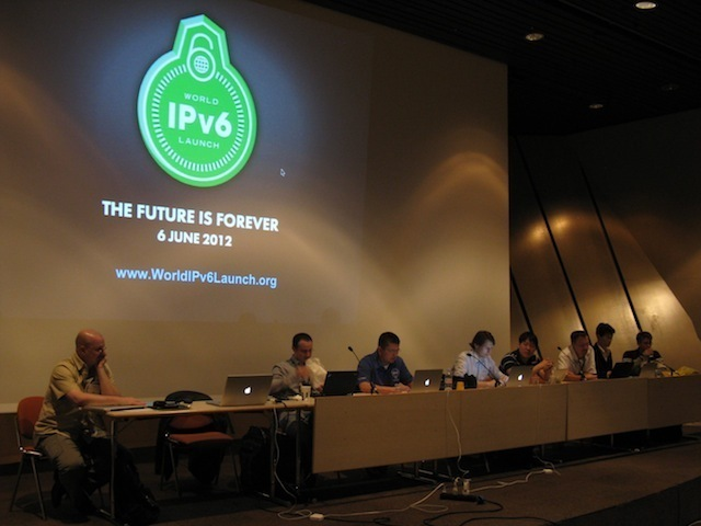 IPv6 World Launch Day panel