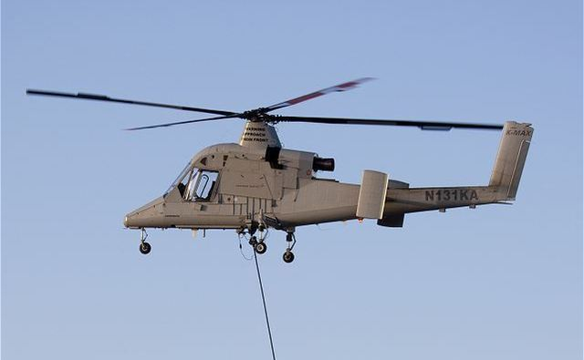K-MAX Lockheed Martin Unmanned helicopter