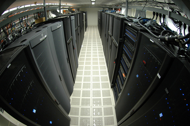 Not just DNA: a genome center also runs on computing power and lots of storage.