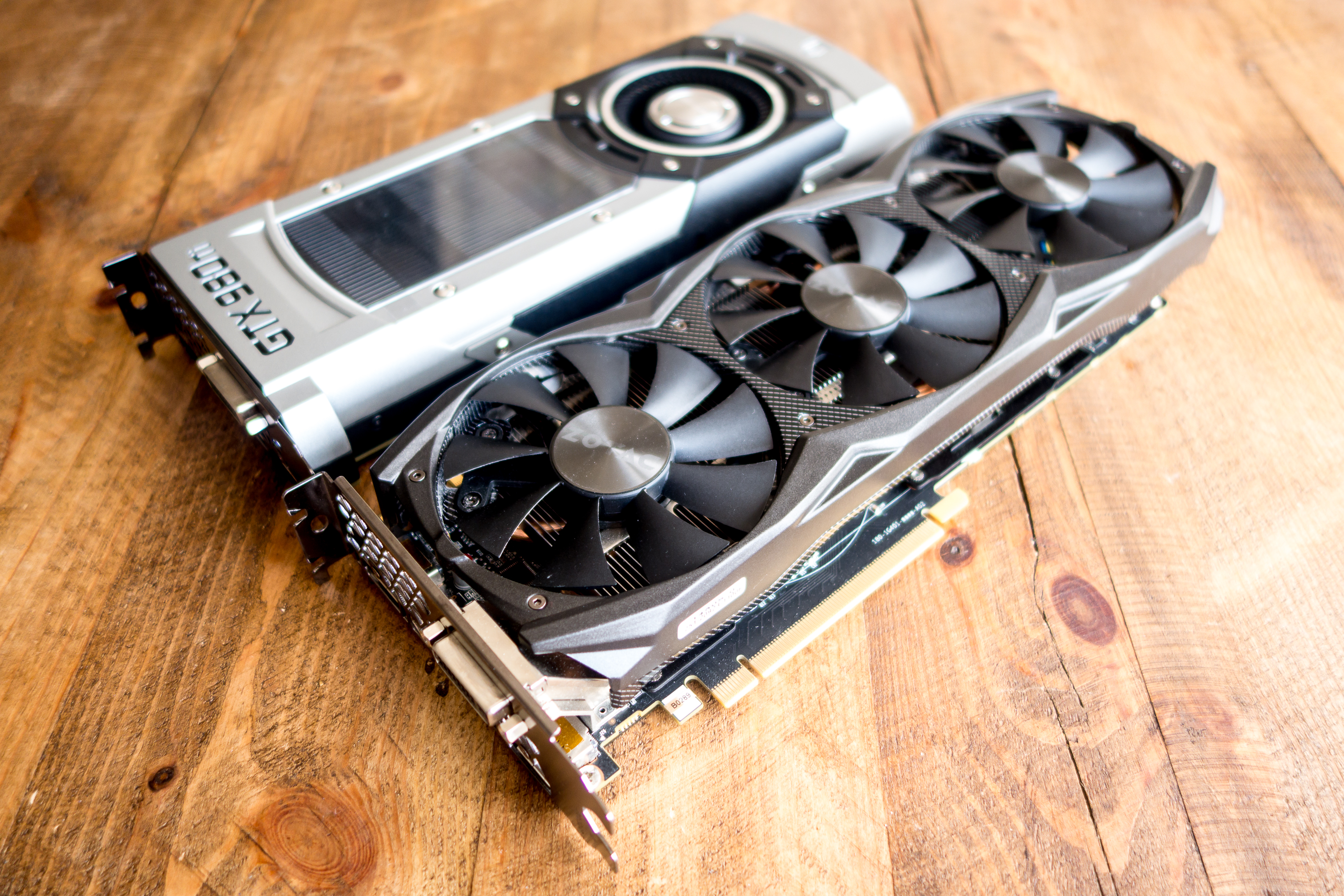 Unlike with the Titan X, partners will be able to create custom cooling solutions like Zotac did with its Amp Extreme Core Edition GTX 970.