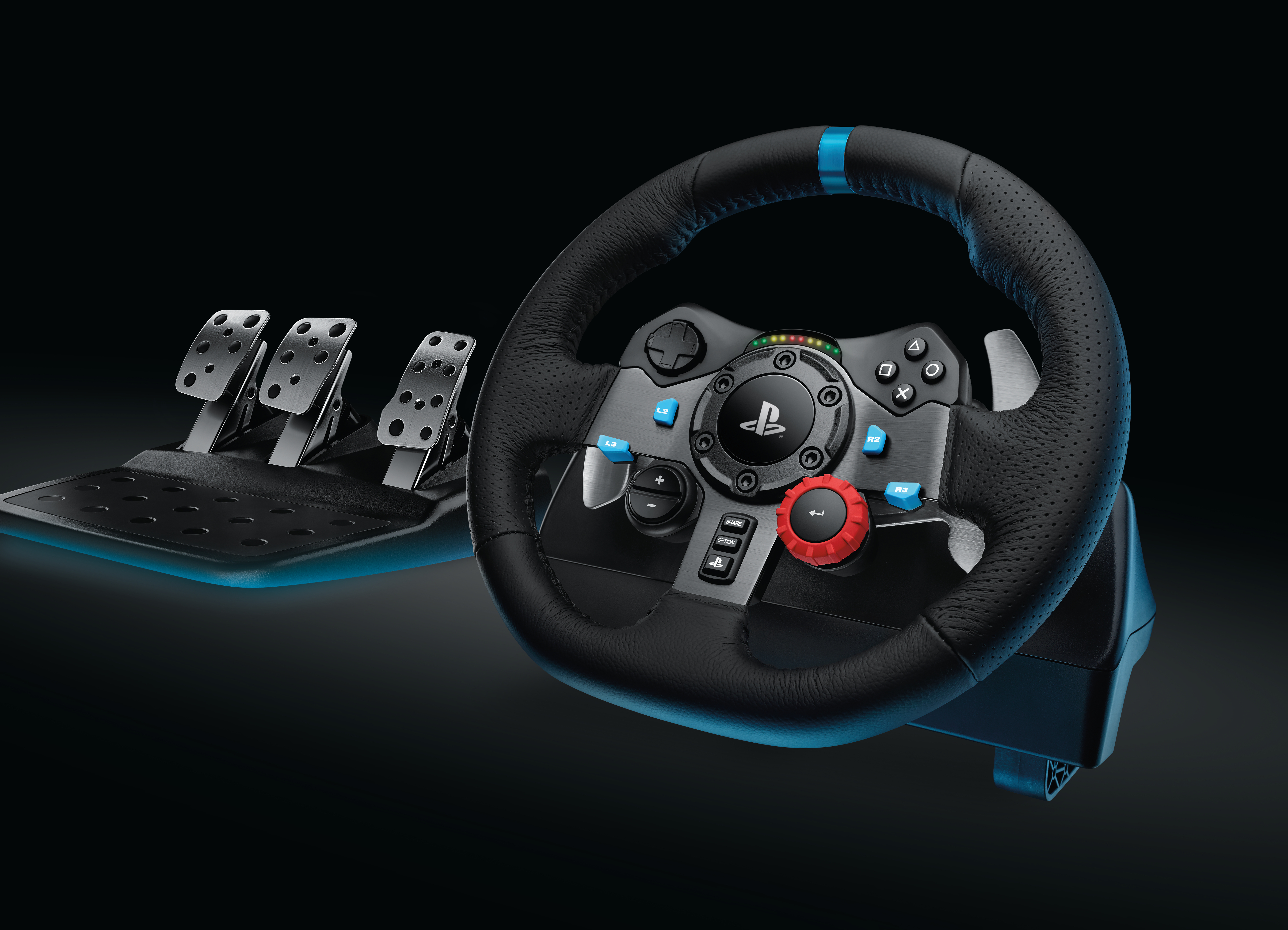 logitech g29 and g920 racing wheels coming to ps4 and xbox. Black Bedroom Furniture Sets. Home Design Ideas
