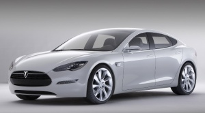 Unofficial concept art of the Tesla Model 3.