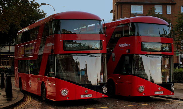 London S New Hybrid Routemaster Buses Have Major Battery