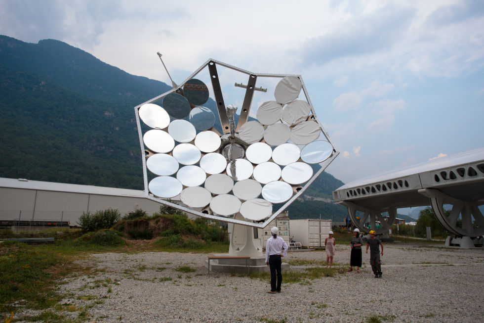 The Solar Sunflower: Harnessing the power of 5,000 suns