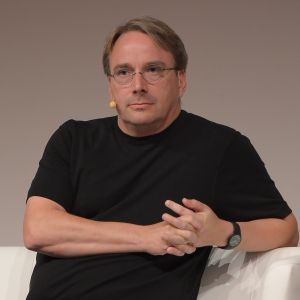 Linus Torvalds in 2005