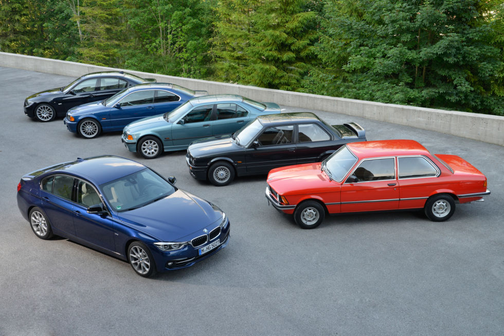 BMW 3 Series: 40 years old, and still the ultimate driving machine