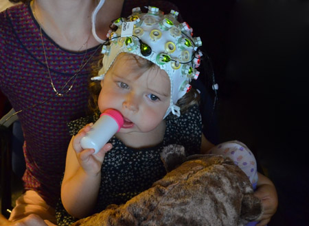 ... and another cute baby in an EEG.