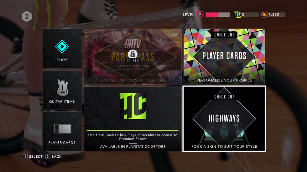 how to make songs on guitar hero live