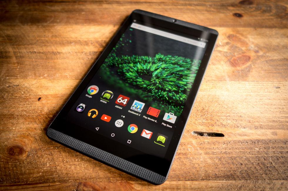 Nvidia SHIELD tablet K1 : Especificações e configurações