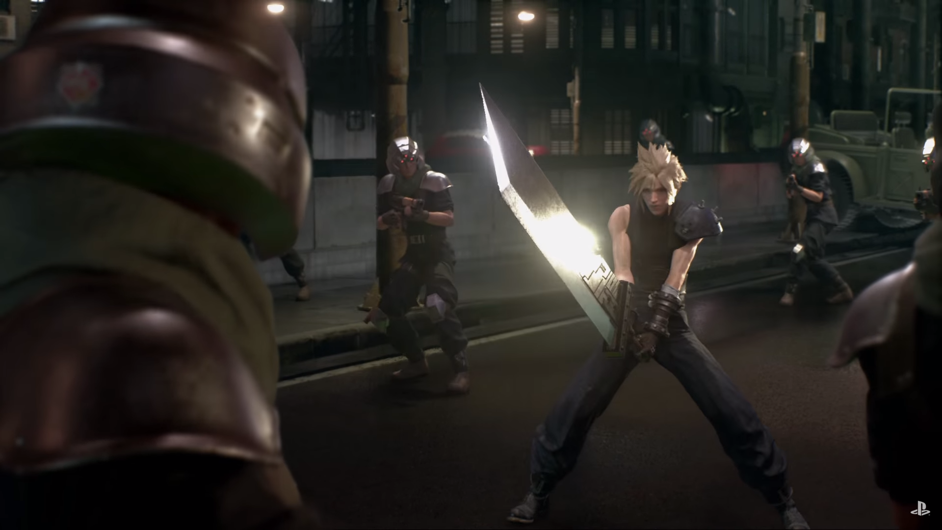 I am excited to play <em>FFVII Remake</em> and all that, but come on. This is a ridiculous image no matter how you spin it.