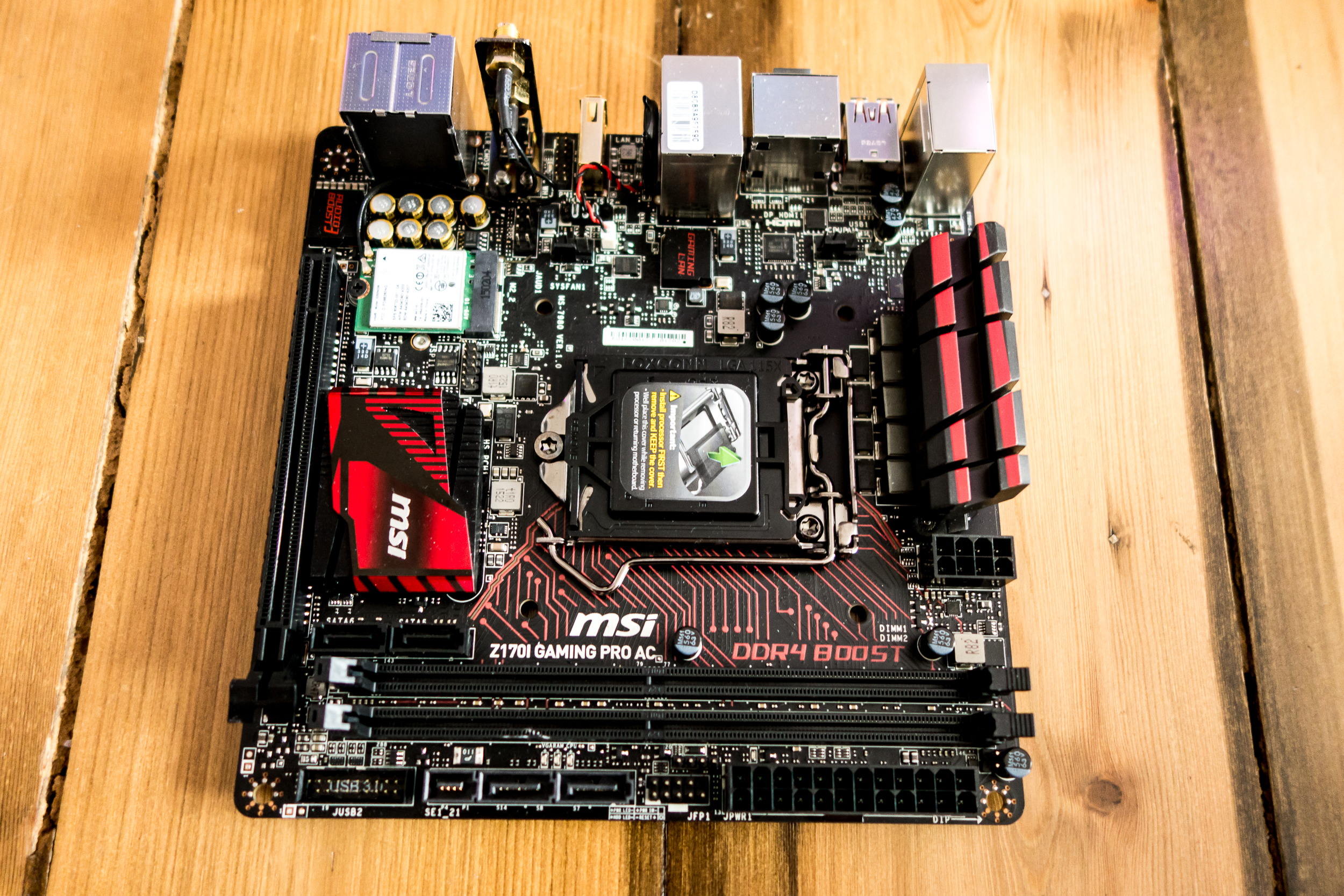 MSI's Gaming Z170I motherboard is one of the best value Skylake boards around, and doesn't skimp on the features.
