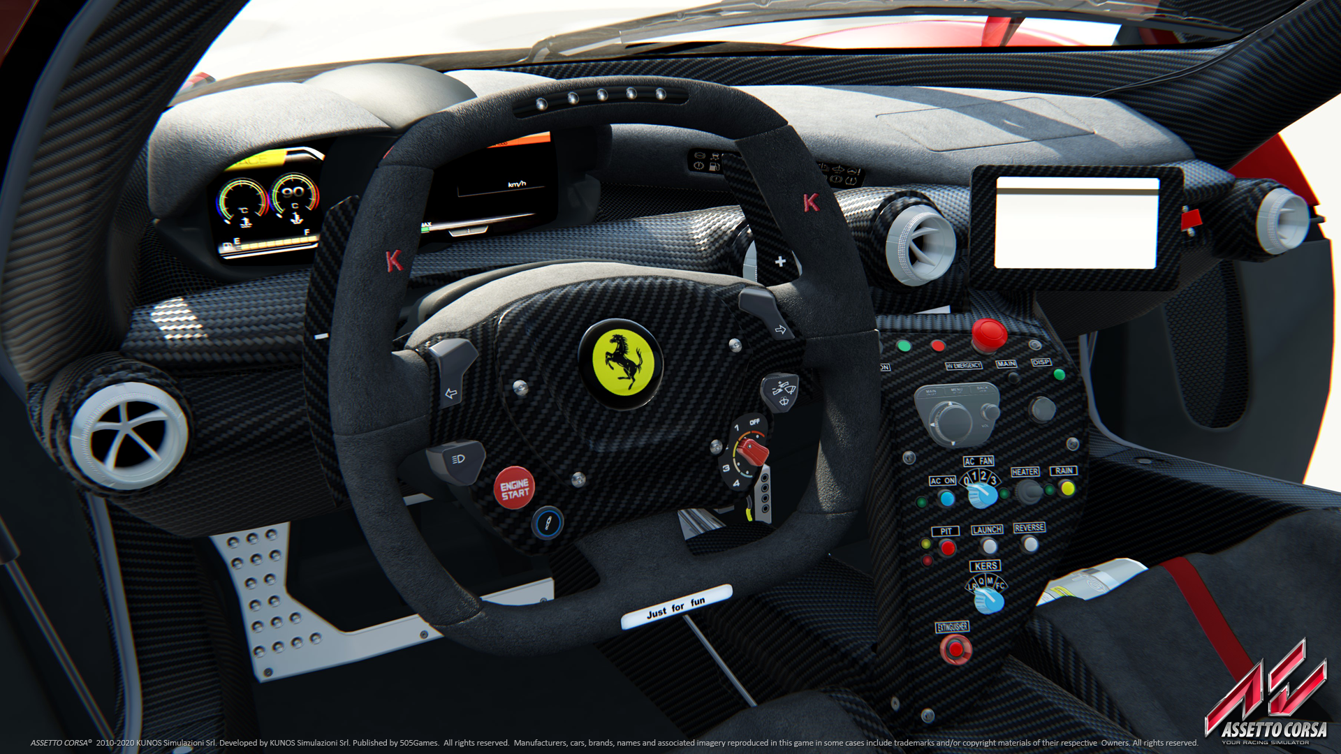 While it's not as pretty as other games, <em>Assetto Corsa</em> still has plenty of detail.