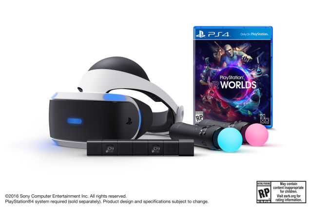PlayStation VR bundle on sale in the United States from Tuesday