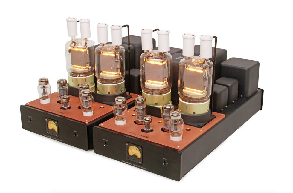 Here's what the MB81s look like with the big ol' valves powered up