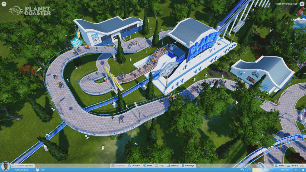 Planet Coaster A Theme Park Sim So Good Its Developers Forgot To Develop It Ars Technica