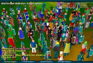 Early versions of <em>RuneScape</em> looked like a fantasy-themed version of <em>The Sims</em>.