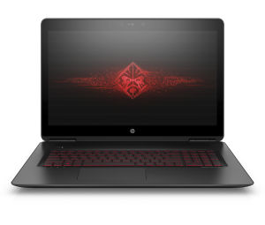 The 17.3-inch Omen gaming laptop. Yes, it looks very similar to the 15.6-inch one...