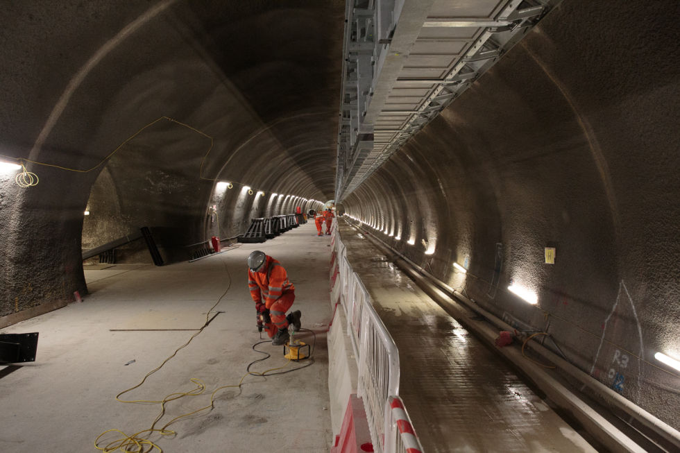 Exploring the Elizabeth line, one of the world's largest construction projects