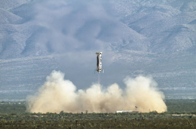 Odds Are Blue Origin Launch Test Will End In Fiery Destruction