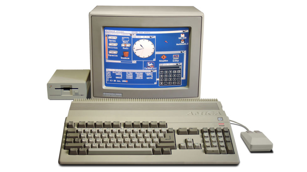 The Amiga 500 was one of the most popular computers of the 1980s, particularly for gamers.