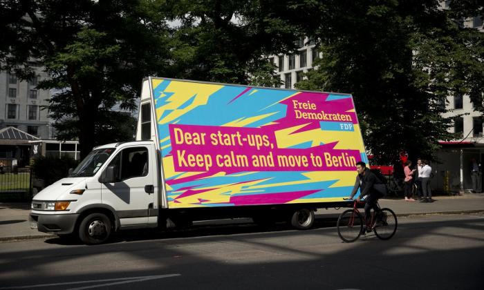 Germany's FDP welcomed UK startups to Berlin.