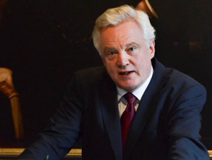 David Davis is the UK's new Brexit chief.