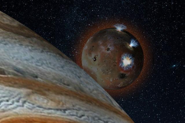Every Day, Jupiter's Moon Io