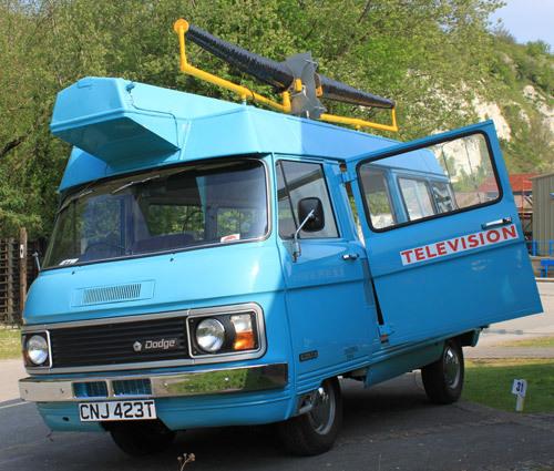 Another TV licence detector van.
