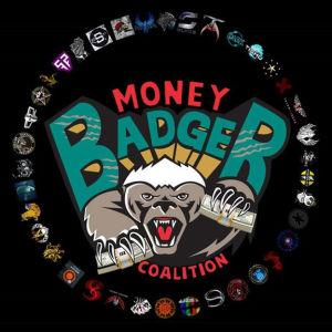 The Money Badger Coalition's logo.