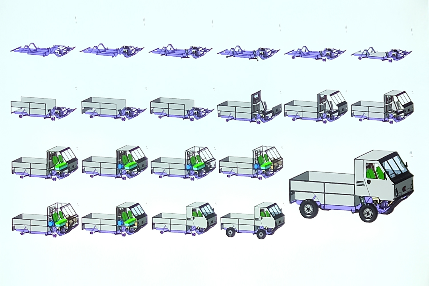 The flat-pack design of the Ox.