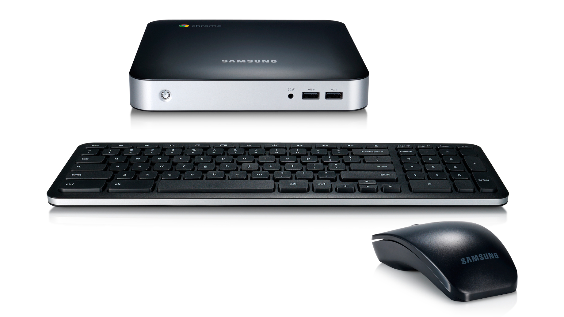Chromebox, with mouse and keyboard