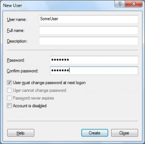 The proper way to set up a new user in Windows 7