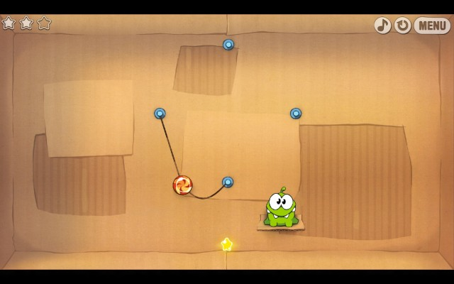 Even simple games like Cut the Rope will give old graphics cards problems in Windows 8.