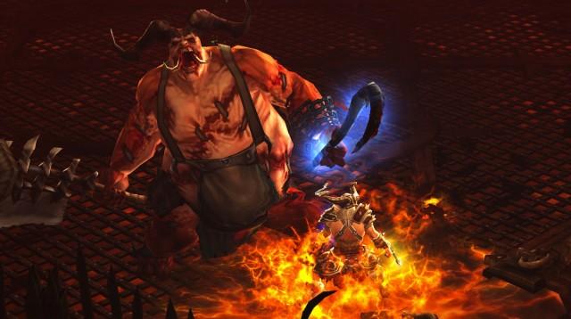 Killing demonic butchers now takes less clicks.