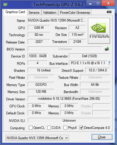 TechPowerUp's GPU-Z says that I've got a DirectX 10 GPU, so chances are I'm in good shape.