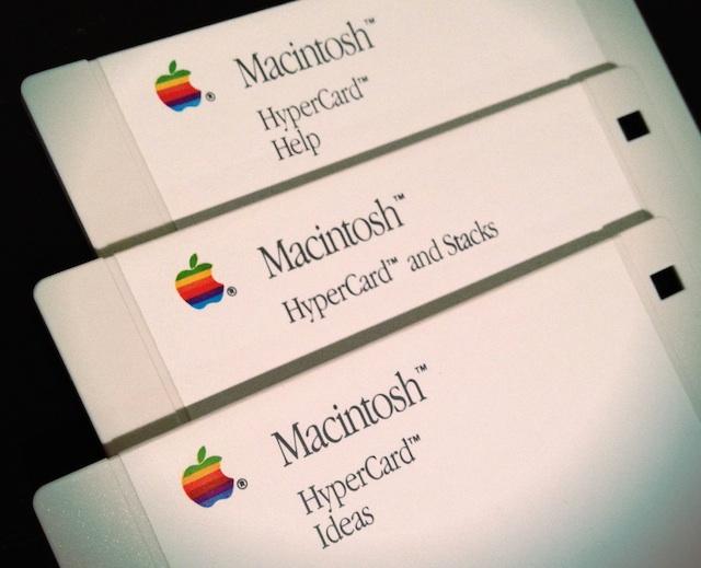 Original HyperCard disks