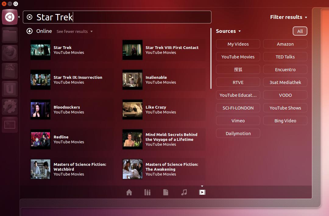 Searching for Star Trek in Unity's new video lens.