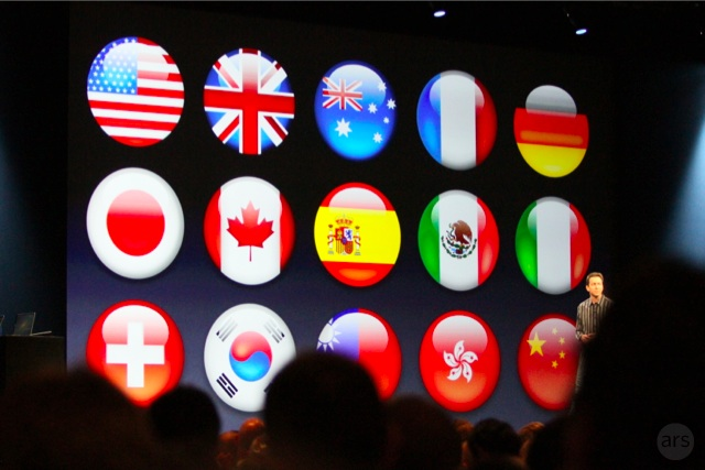 Siri now supports languages other than English.