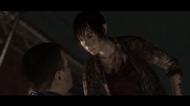 In <em>Beyond: Two Souls</em>, a girl with telekinetic powers tries to escape capture.