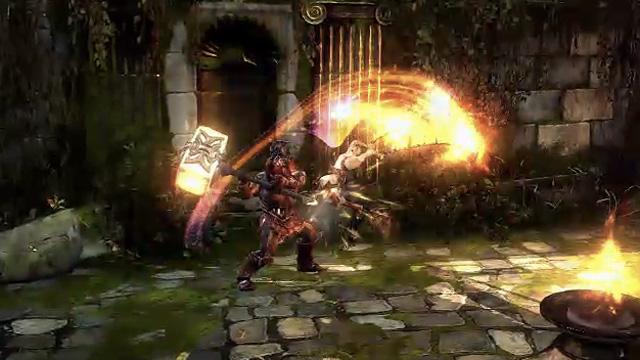 <em>God of War</em>, as violent as ever.