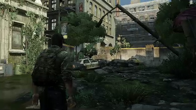 The landscape in <em>The Last of Us</em>