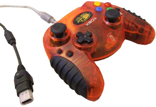 This MadCatz Xbox Controller came in one of several eye-melting colors.
