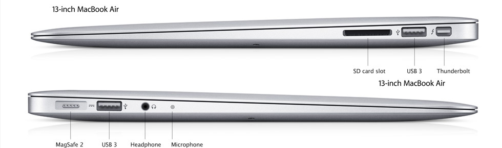 Faceoff: 13″ MacBook Pro vs 13″ MacBook Air | Ars Technica