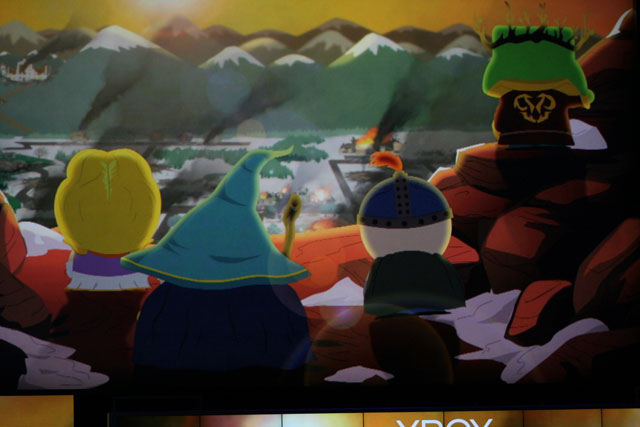 Footage from a new <em>South Park</em> game was shown off during Microsoft's E3 keynote
