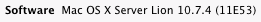 Lion Server would change the About This Mac dialog to let you know you were running server software.