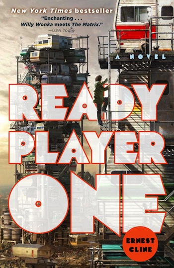 Ernest Cline's novel Ready Player One, published in 2011, is now out on paperback.